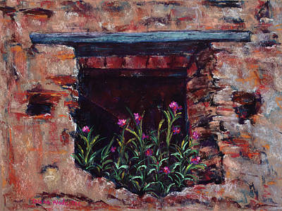 Painting - Window To The Past by Diana Wade