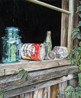 Painting - Window To The Past by Heidi Parmelee-Pratt