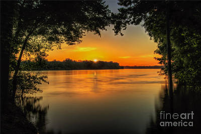 Photograph - Window To The River by Larry McMahon