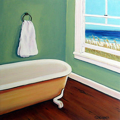Window To The Sea No. 4 Art Print