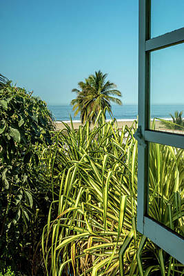 Photograph - Window To The Sea by Tina Ernspiker