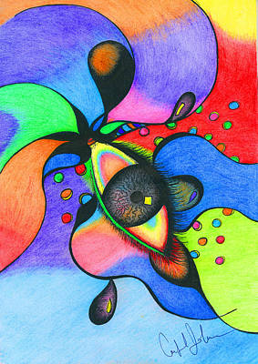 Soulful Eyes Drawing - Window To The Soul by Candance Johnson