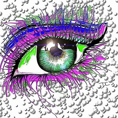 Digital Art - Window To The Soul by Darren Cannell
