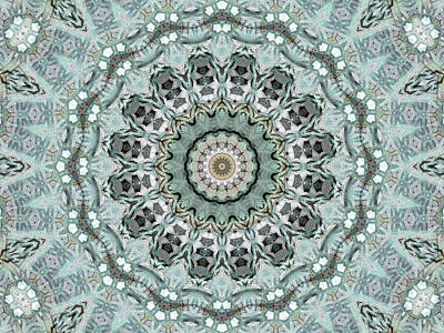 Digital Art - Window To The World Mandala by Janusian Gallery