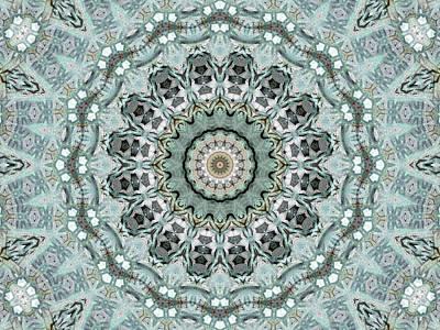 Window To The World Mandala Art Print by Janusian Gallery