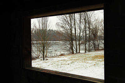 Connecticut Winter Photograph - Window To Winter by Karol Livote