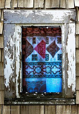 Painting - Window Toward The Sea by Susan Vineyard