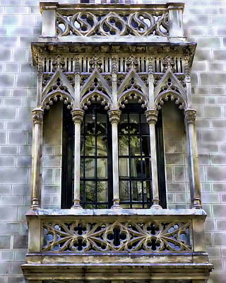 Photograph - Window View by Anthony Dezenzio