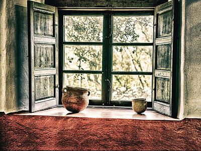 Photograph - Window View by Charles McKelroy