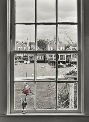 Photograph - Window View by JAMART Photography