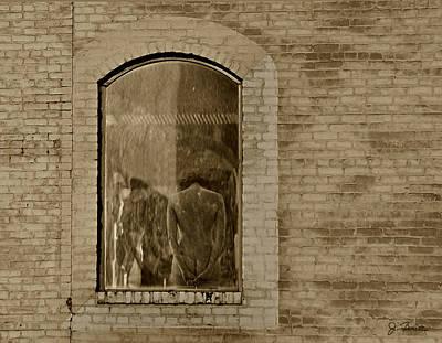 Photograph - Window View by Joe Bonita