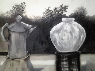 Painting - Window View by Kim Shuckhart Gunns
