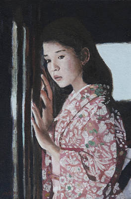 Painting - Window View by Masami Iida