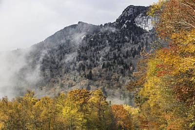 Photograph - Window View Of Grandfather Mountain by Ken Barrett