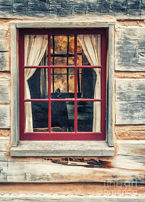 Photograph - Window View Within by Joann Long