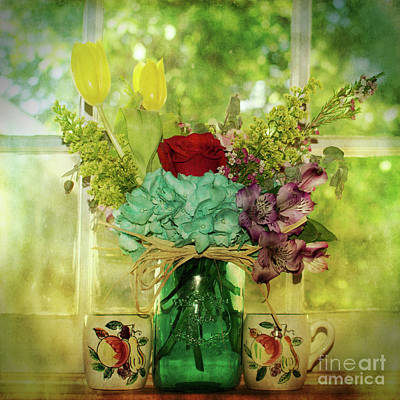 Photograph - Window Vision by Mary Bellew