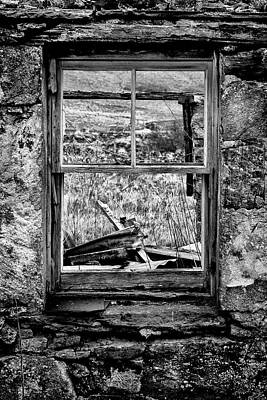 Photograph - Window With A View by David Hare