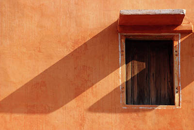 Photograph - Window With Long Shadow by Prakash Ghai