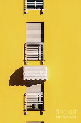 Photograph - Window With Sunshade by Silvia Ganora