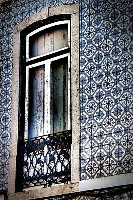 Photograph - Window With Tiles by Dora Hathazi Mendes