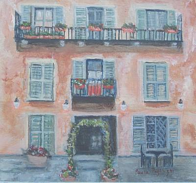 Painting - Windows And Shutters by Paula Pagliughi