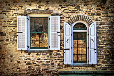 Photograph - Windows At Grey Towers by Carolyn Derstine