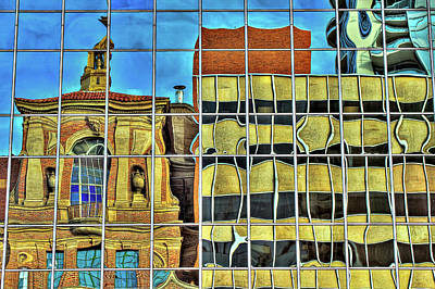 Dali Inspired Photograph - Windows by CEB Imagery