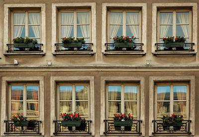 Photograph - Windows Eight by Hany J