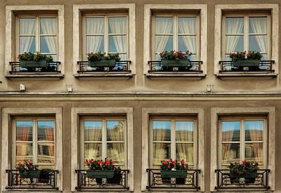 Photograph - Windows Eight by Hany J