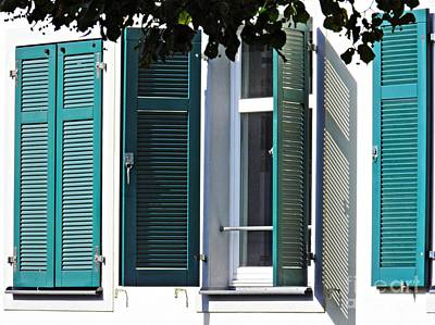 Photograph - Windows In Biebrich 1 by Sarah Loft