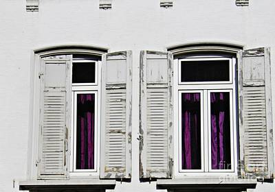Photograph - Windows In Biebrich 2 by Sarah Loft