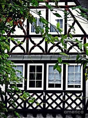 Photograph - Windows In Eltville 3 by Sarah Loft