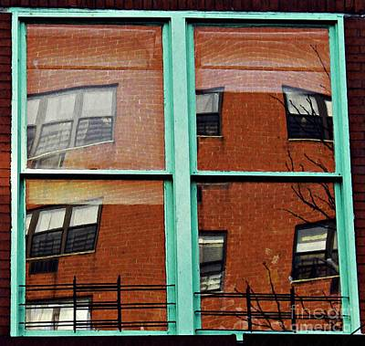 Contemporary Abstract Photograph - Windows In The Heights by Sarah Loft