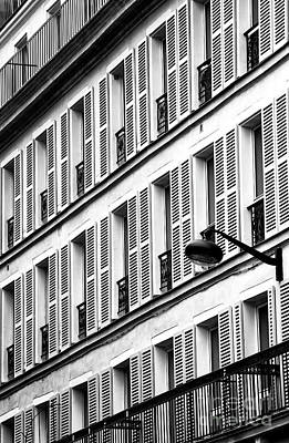 Photograph - Windows In The Latin Quarter by John Rizzuto