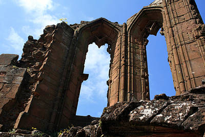 Kenilworth Castle Wall Art - Photograph - Windows In Time by Cathy Weaver