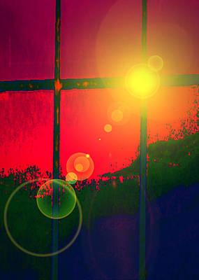 Basic Mixed Media - Windows No. 01 by Ramon Labusch