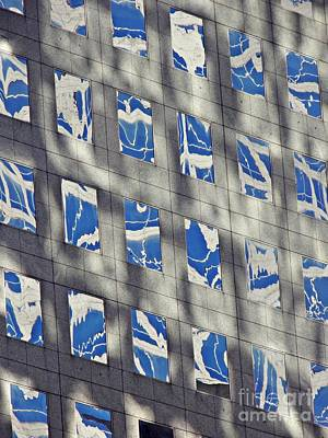 Photograph - Windows Of 2 World Financial Center 3 by Sarah Loft