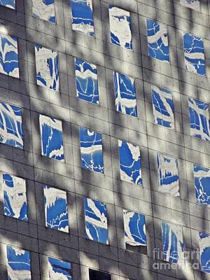 Photograph - Windows Of 2 World Financial Center 3 by Sarah Loft