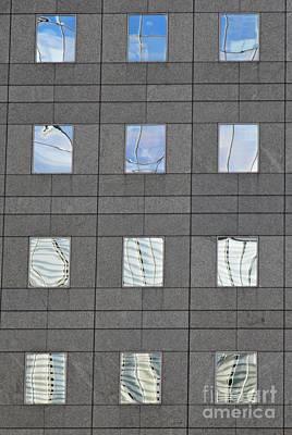Photograph - Windows Of 2 World Financial Center   by Sarah Loft