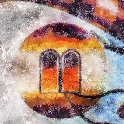 Digital Art - Windows Of Abstraction by Mario Carini