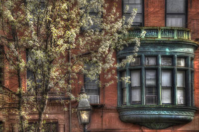 Boston Photograph - Windows Of Back Bay - Boston Architecture by Joann Vitali