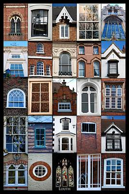 Slider Photograph - Windows Of Louth by Naomi Tebbs