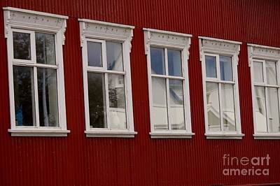 Photograph - Windows Of Reykjavik by Mary-Lee Sanders