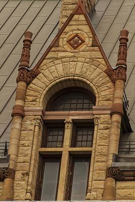 Photograph - Windows Of Toronto's Old City Hall - 4 by Hany J