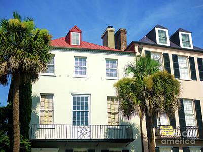 Photograph - Windows On East Bay Street Charleston by John Rizzuto