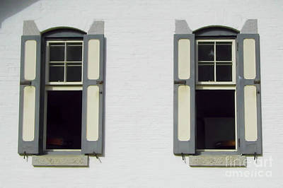 Photograph - Windows On The Keepers Cottage by D Hackett