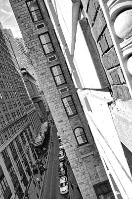 Photograph - Windows On Wall Street   Nyc by Joan Reese