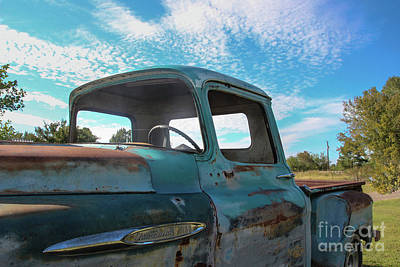 Windows Out On A Hot Summer Day Art Print by Laura Deerwester