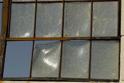 Photograph - Window's Pain 3 by Sara Stevenson