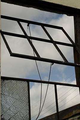 Photograph - Window's Pain 4 by Sara Stevenson